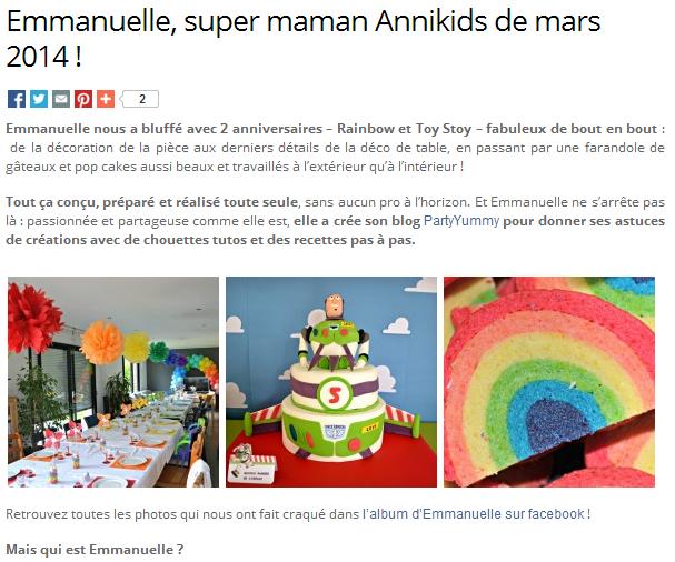 Super Maman Annikids