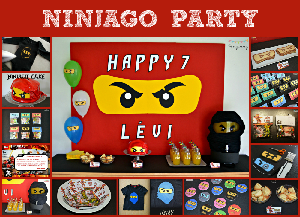 anniversaire-ninjago-party-sweet-table-cake-gateau-tee-shirt