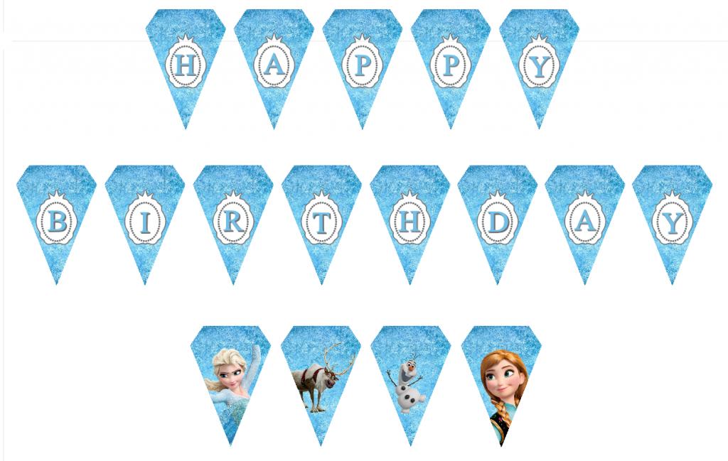 Bien connu Kit anniversaire la reine des neiges HS17