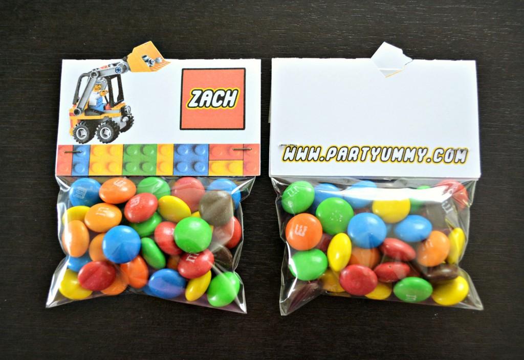 Bonbons personnalises anniversaire - Idee paquet bonbon pour anniversaire ...