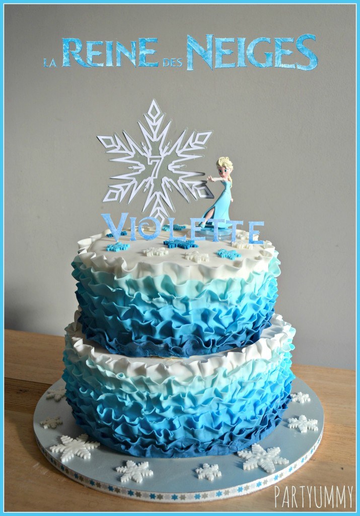 gateau elsa reine des neiges frozen cake. Black Bedroom Furniture Sets. Home Design Ideas