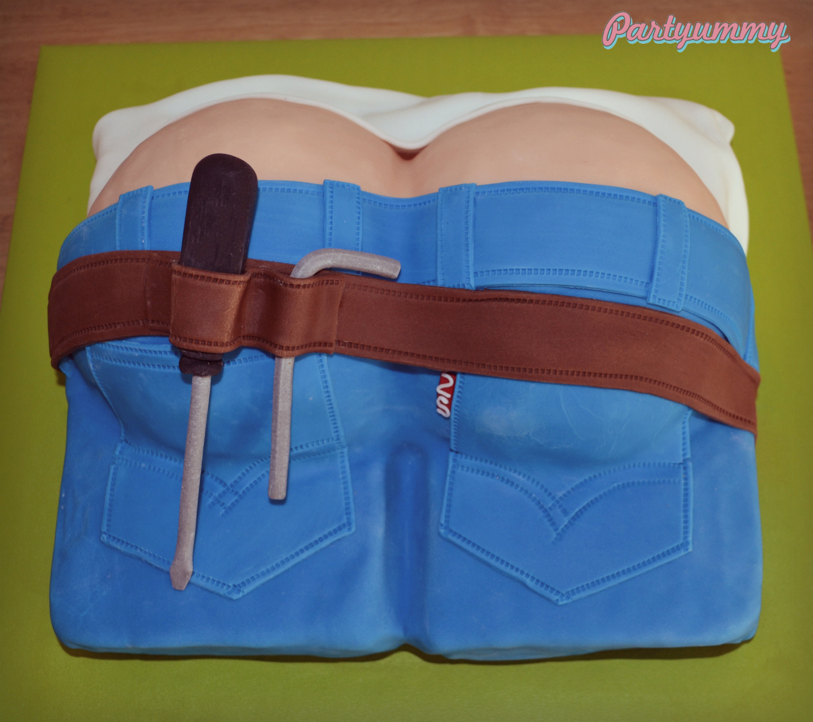 gateau-plombier-fesses-plumber-cake