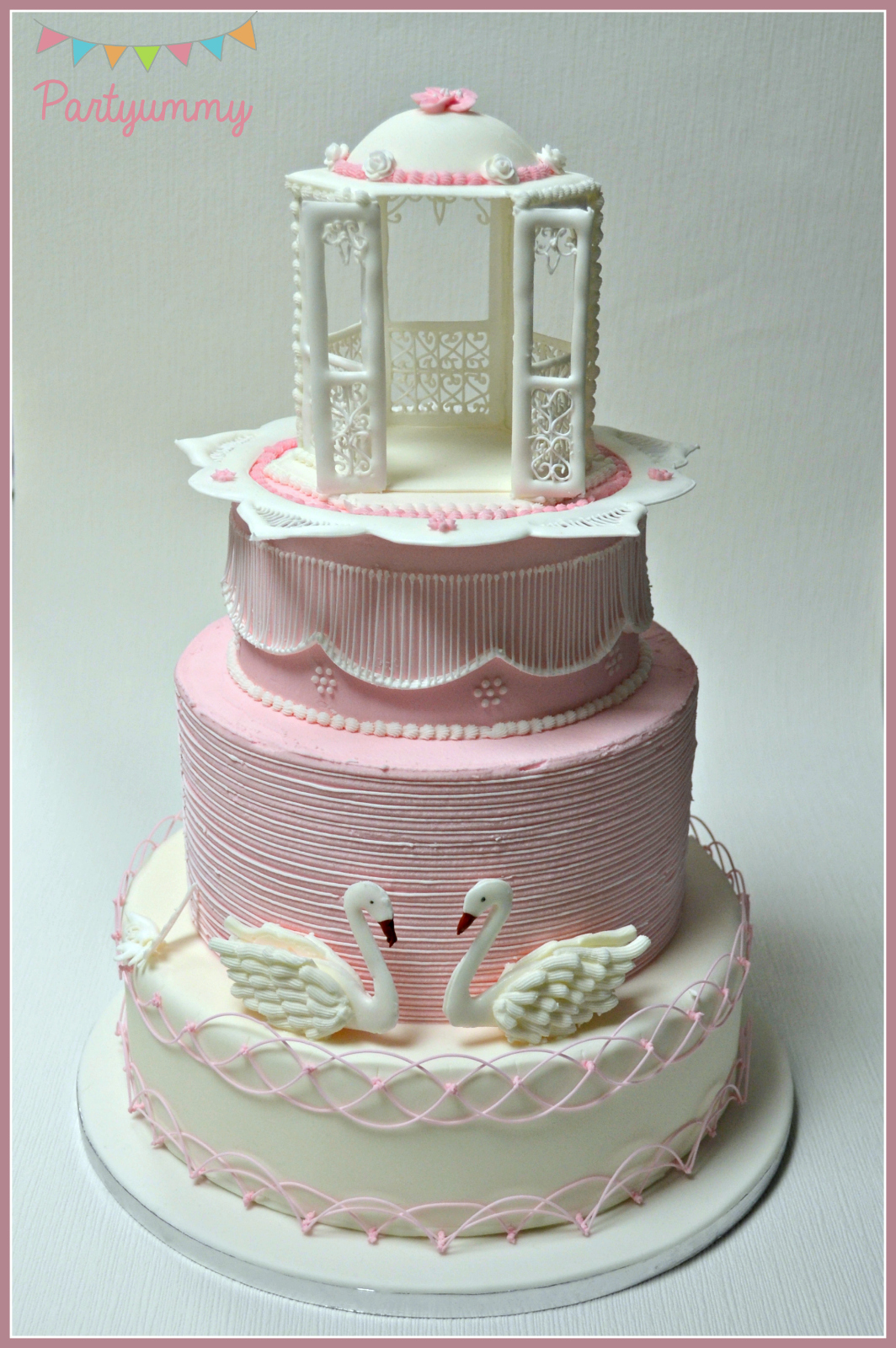 Wedding cake en glacage royal - Decoration gateau glacage royal ...