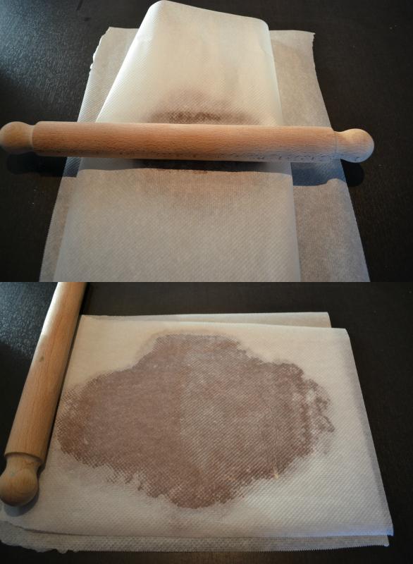etaler-pate-sables-papier-cuisson