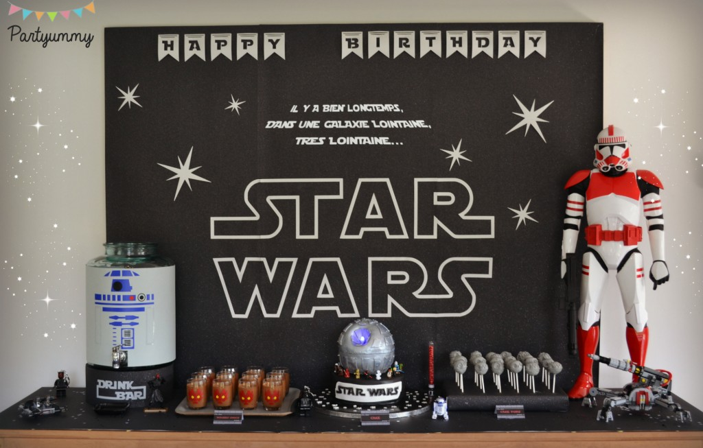 anniversaire star wars. Black Bedroom Furniture Sets. Home Design Ideas