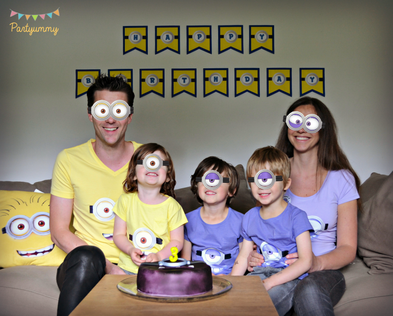 anniversaire-minion-tee-shirt-banderole-mask