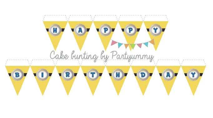 cake-bunting-minion-banderole-gateau-cake