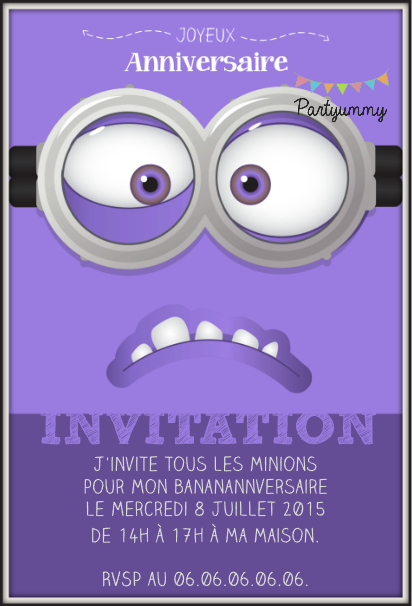 invitation-minion-violet-anniversaire-birthday-party-evil-filigrane