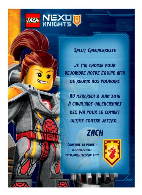 Super Organiser une fête d'anniversaire Lego Nexo Knights FH24