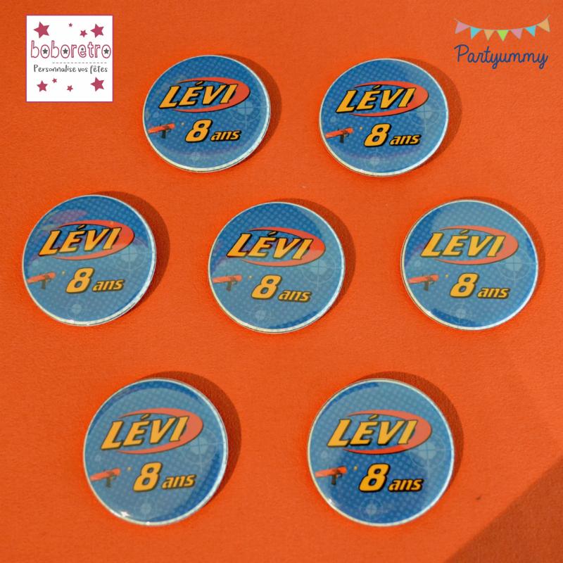 badges-personnalisés-boboretro-nerf-theme
