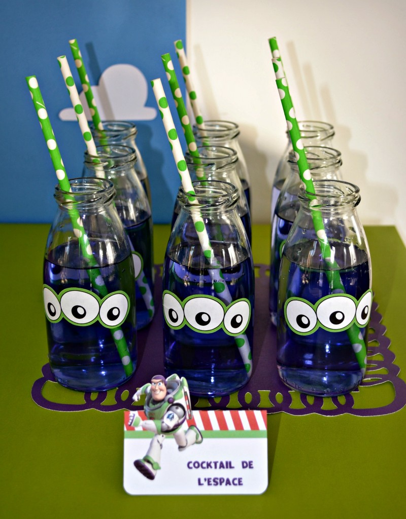 anniversaire-toy-story-boissons-aliens