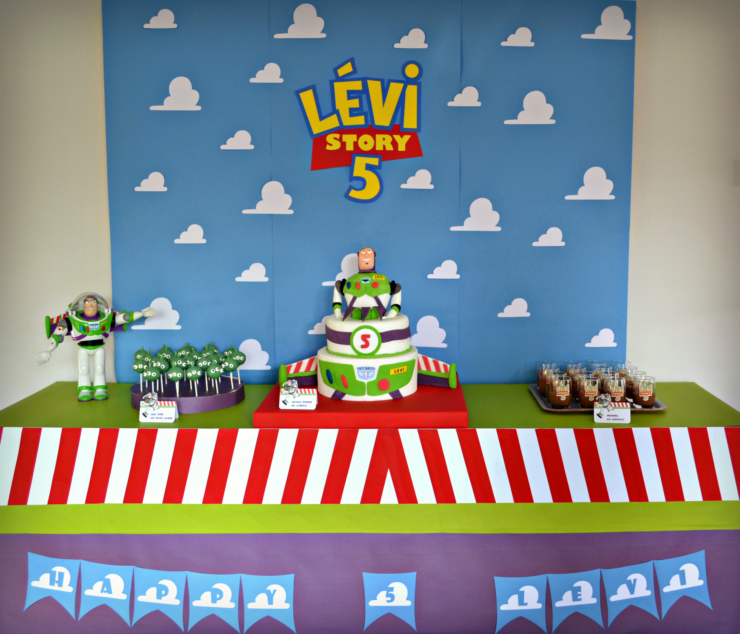 anniversaire-toy-story-sweet-table