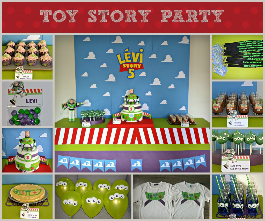 Anniversaire Toy Story Buzz Léclair