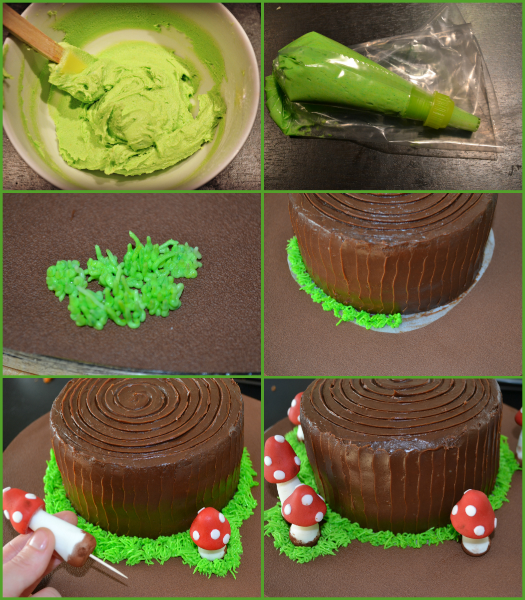 gateau-decoration-herbe