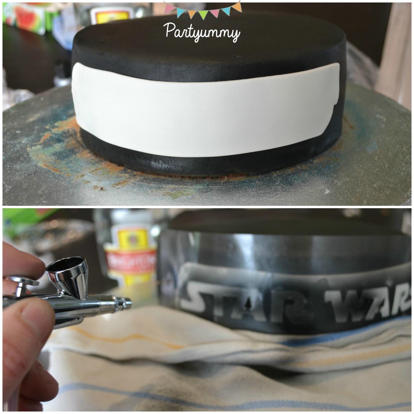 gateau-cake-aerographe-pochoir