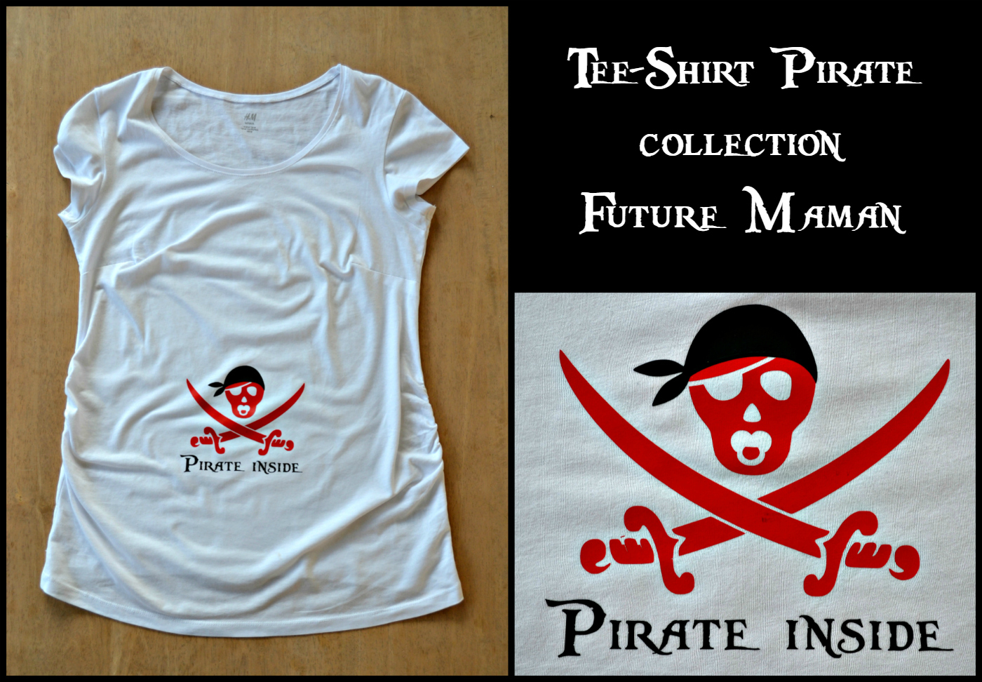 tee-shirt-pirate-blanc-future-maman-diy-flex