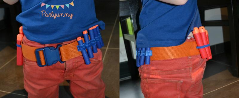 ceinture-nerf-munitions-diy-couture-couleur-bleue